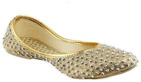 Shoe Lab Women Gold Bellies