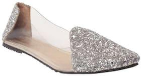 Shoe Lab Women Silver Bellie
