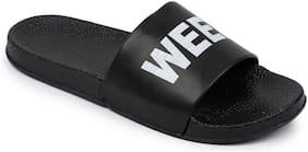 Shoe Mate Men Black Flip-Flops - 1 Pair