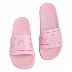 Shoe Mate Women's Pink Flip Flops
