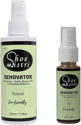 Shoe Mistri Shoe Renovator Combo ( Natural & Tan)
