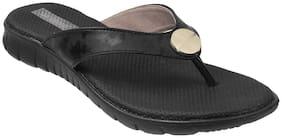 SHOEBIRD Women Black Sandals