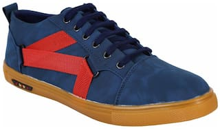 SHOEBOOK Men Blue Sneakers