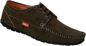 SHOES KINGDOM Men Brown (Coffee) Casual Shoes