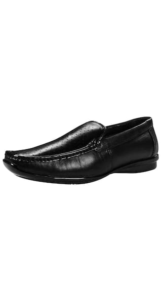 bfbea28093d5 Buy Shooz Men s Genuine Leather Black Formal Shoes Online at Low ...