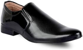SHOVOC Men Black  Formal Shoes