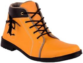 SHOVOC Men Tan Casual Shoes