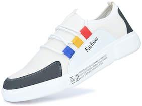 SHURAB Men White Casual Shoes - KBM_003_WHITE - KBM003
