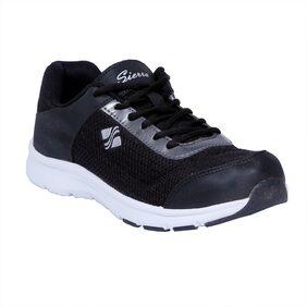 Sierra Men Black Running shoes