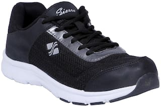 Sierra Men Running Shoes ( Black )