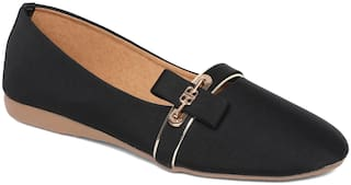 Sindhi Footwear Women Black Bellies