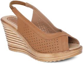 Sindhi Footwear Women Brown Sandals
