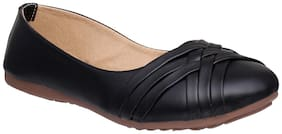 Sindhi Footwear Women Black Bellie
