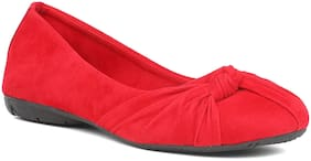 Sindhi Footwear Women Red Bellie