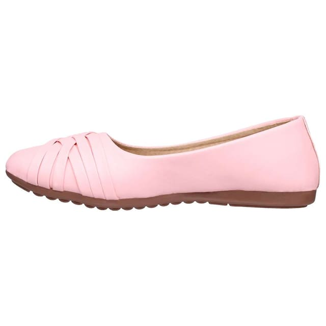 Sindhi Footwear Women Pink Bellie