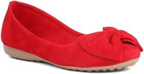 Sindhi Footwear Women Red Bellie