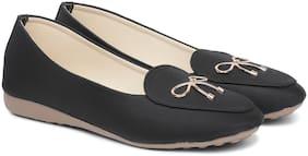 Sindhi Footwear Women Black Bellies