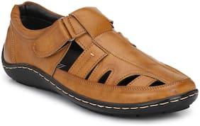 Sir Corbett Men Tan Sandals
