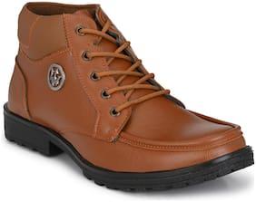 Sir Corbett Men Tan Outdoor Boots - 14020