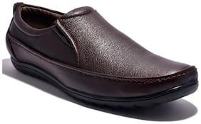 Sir Corbett Brown Rubber Slip On Shoes