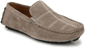 Sir Corbett Men Grey Loafers - 3001