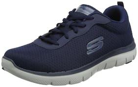 Skechers Men Running Shoes ( Navy Blue )