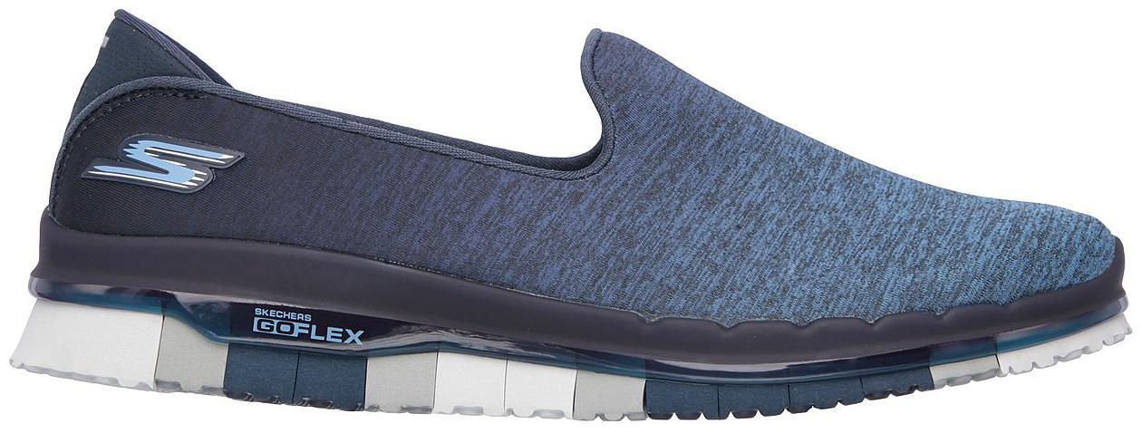 Skechers Go Flex Muse Blue Walking Shoes