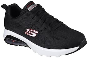 Skechers Men's Skech-Air Extreme Black and White Running Shoes