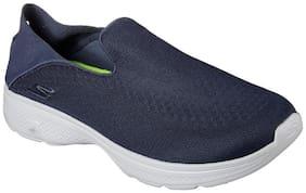 Skechers Men's Gowalk 4 Navy and Grey Walking Shoes