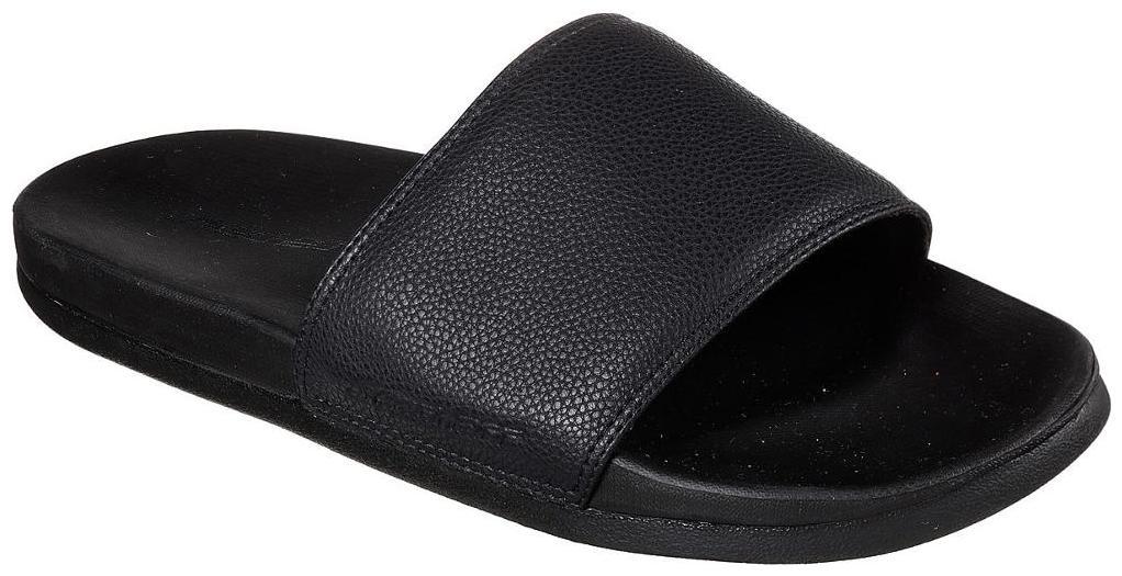 Buy Skechers Men Black Sliders - 1 Pair