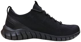 Skechers Men Running Shoes ( Black )