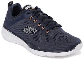 Skechers Men Navy Blue Equalizer 3.0 Running Shoes