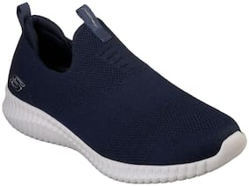 Skechers Men ELITE FLEX- WASIK Walking Shoes ( Navy Blue )