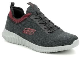 Skechers Men Elite Flex Hartnell Running Shoes ( Grey )