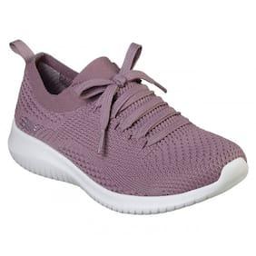 Skechers Women Skechers Women Sport Ultra Flex Shoes Running Shoes ( Purple )