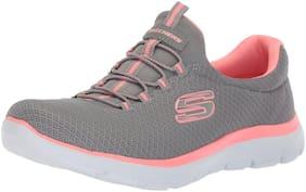 Skechers Women SUMMITS Running Shoes ( Grey )