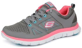 Skechers Women Running Shoes ( Grey )