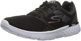 Skechers Men GO RUN 400 Running Shoes ( Black )
