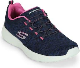 Skechers Women Walking Shoes ( Blue )