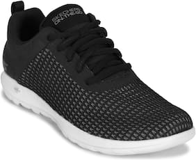 Skechers Women Walking Shoes ( Black )