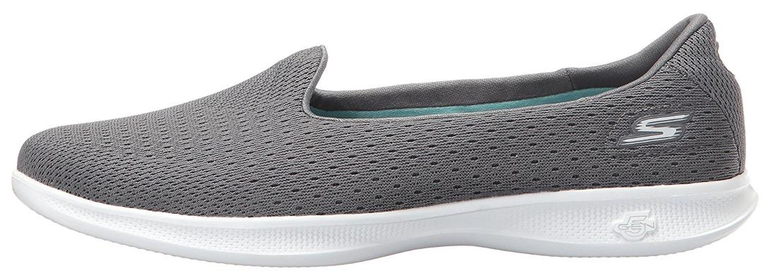 271c992059 Buy Skechers Women's Go Step Lite - Origin Grey Slip On Walking Shoes  Online at Low Prices in India - Paytmmall.com