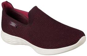 Skechers Women Walking Shoes ( Purple )