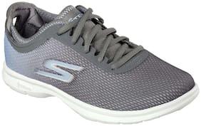 Skechers Women's Go Step - Cosmic Grey Running Shoes