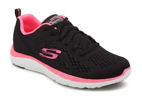 Skechers Women Running Shoes ( Black )