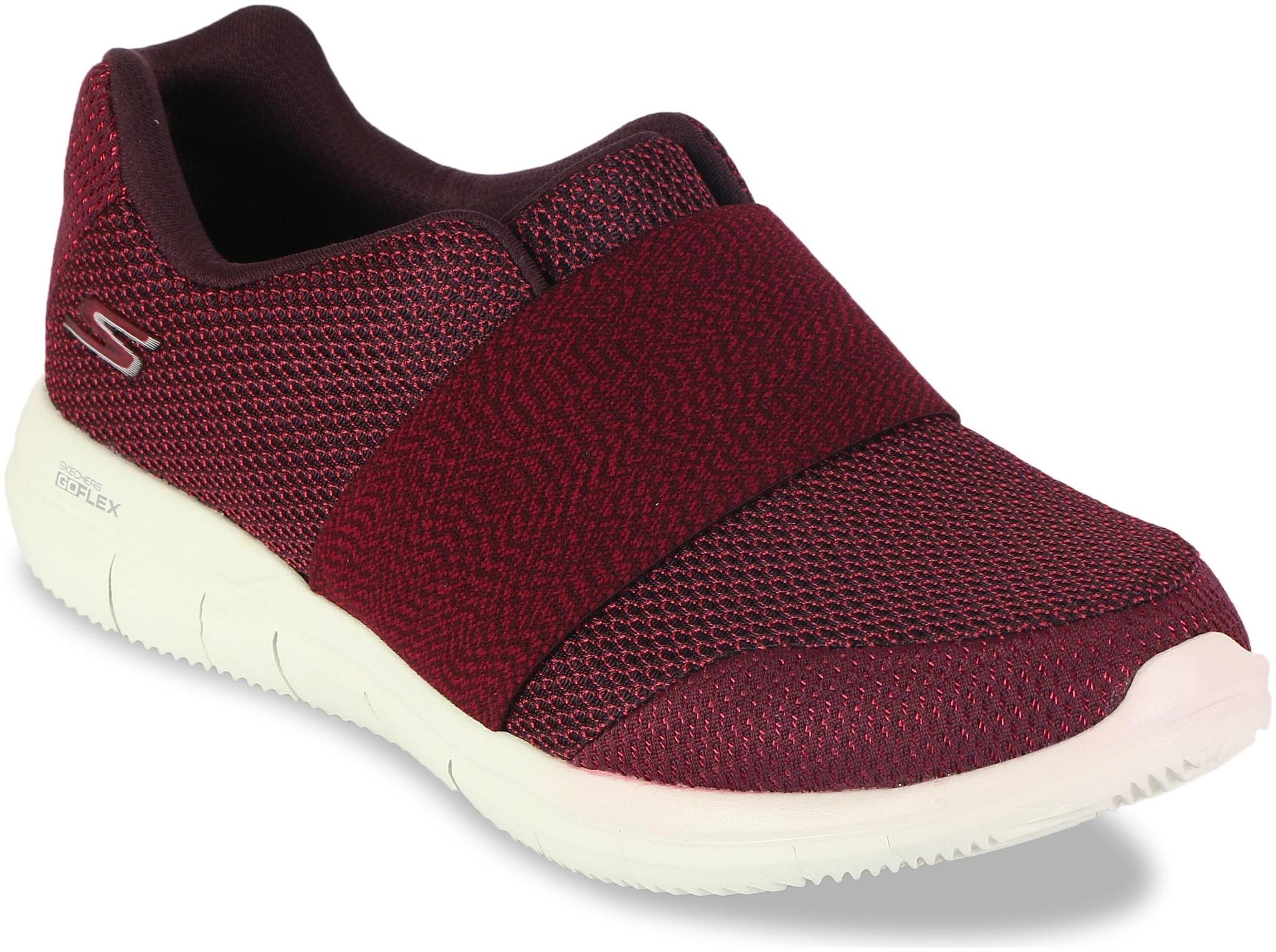 FLEX 2-CURVE Walking Shoes ( Purple