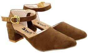 Skoll Women Brown Sandals