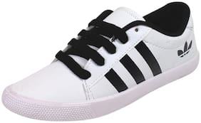 SKYMATE Women White Casual Shoes