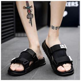 Enso Men Black Outdoor slippers