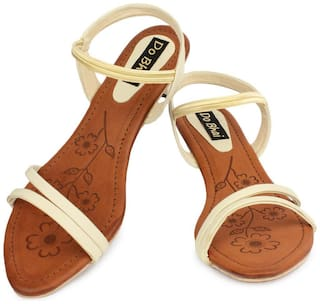 Do Bhai Women Brown Peep toes