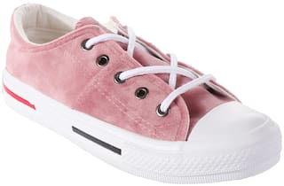 Enso Women Pink Sneakers